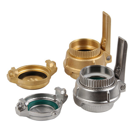 China Factory Customzed Brass Stainless Steel Tank Wagon Truck Hose Coupling