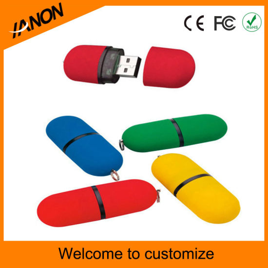 Classic USB Flash Drive 2.0 USB Stick Plastic USB Flash Disk pictures & photos