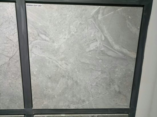 China Concrete Grey Color Strong Floor Tile - China Polished Crystal ...