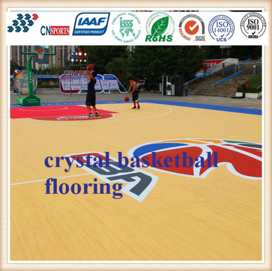 Best Price Non-Toxic Spu Rubber Basketball Court Flooring for Outdoor and Indoor pictures & photos