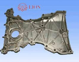 OEM Aluminum Die Casting Part for High Pressure Oil Pump Rear Cover