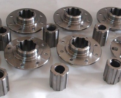 CNC Machining Threaded Rod with Nut pictures & photos