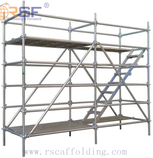 CE, SGS Certified Ringlock System Scaffolding for Building