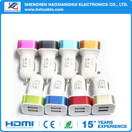 Wholesale USB Car Charger for Smartphone Power Charger pictures & photos