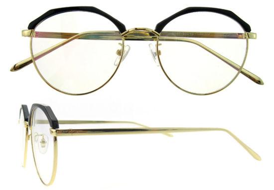 Fashion Round Eyeglasses Frame Models New Italy Design Glasses China ...