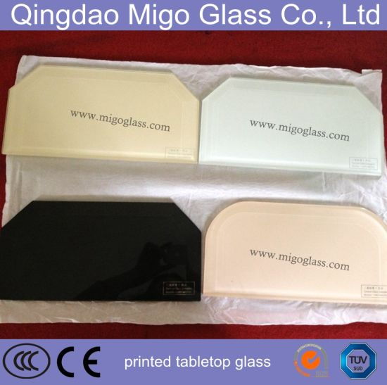5mm 6mm Colored Safety Tabletop Glass for Restaurant Tables pictures & photos