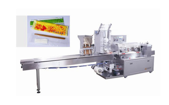 2019 Wenzhou Automatic Plastic Knife Spoon Fork Pillow Packaging Machine Price Pouch Packing Machine