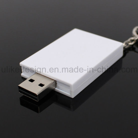 Customize Plastic USB Flash Drive (UL-P027)