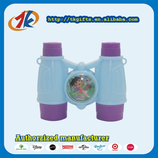 Wholesale Child Plastic Telescope Toy Binoculars Toy with High Quality