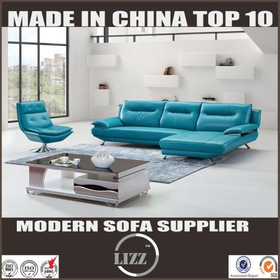 China Modern New Design Mid Century Style Leather Sofa China
