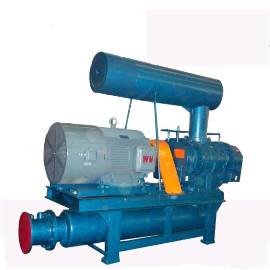 Bi-Lobe Roots Blower Vacuum Pump for Special Gas Exhaust