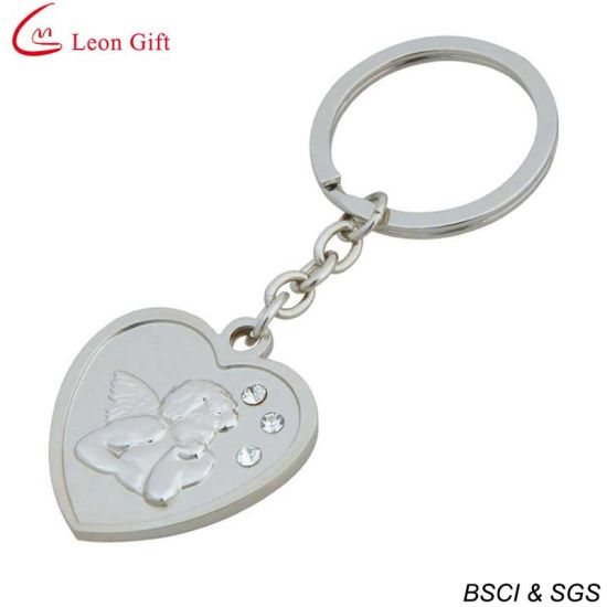 Factory Supply Heart Shape Keychain for Logo Suitable pictures & photos