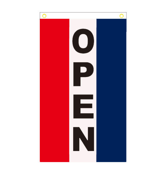 Any Size Any Logo Polyester Fabric Banners Flag Custom Printing