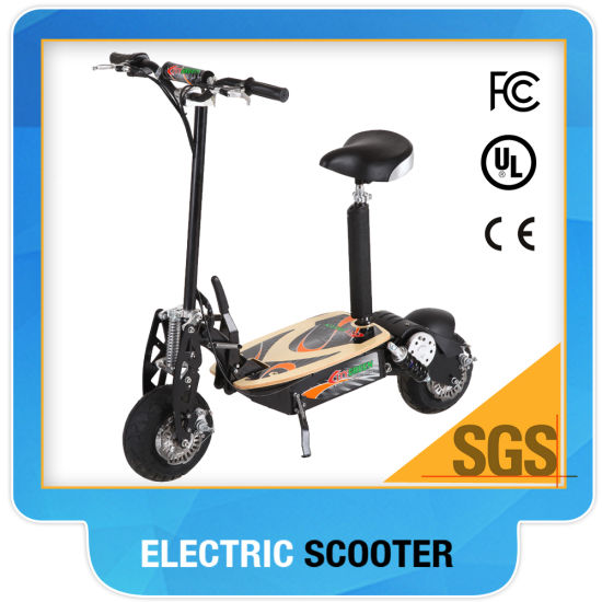 2018 Sxt Scooter Electrique with Plastic Pedal Electric Scooter