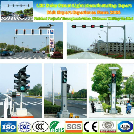 Custom-Made Road Street Galvanized Steel Power Traffic Signal Light Pole