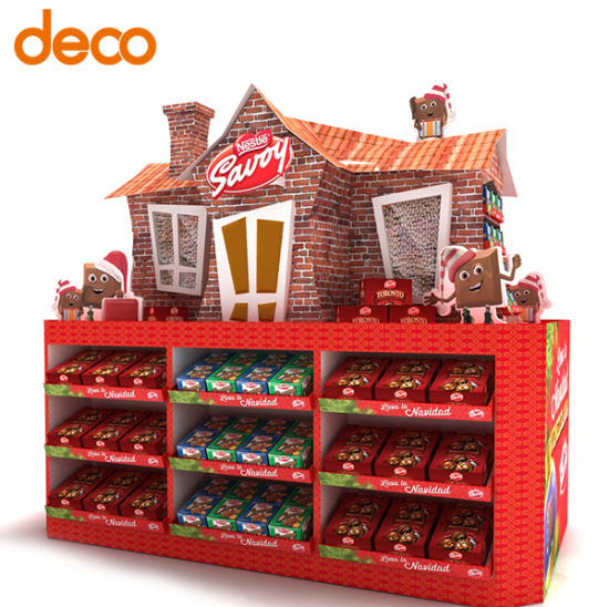 Pop Display Cardboard Exhibition Stand Store Display pictures & photos