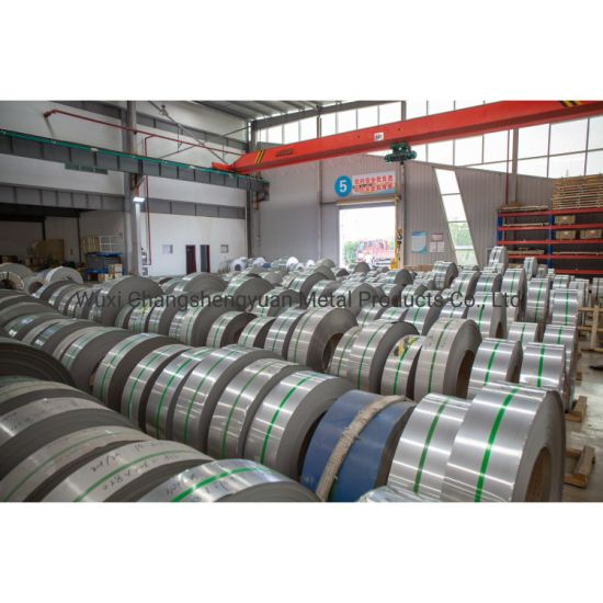 AISI SUS 201 304 316L 310S 316ti 317 317L 321 347 347H Stainless Steel Coil with Ba No. 1 2b 8K Hl Surface