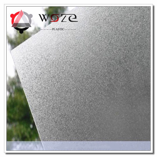 High Quality Frosted PC Solid Sheet Window Decoration Materials pictures & photos