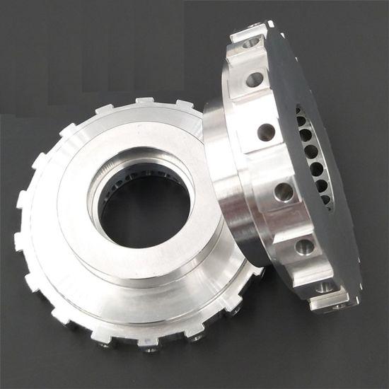 Professional Custom Shaft Flange CNC Machining Aluminum Parts Anodizing CNC Milling