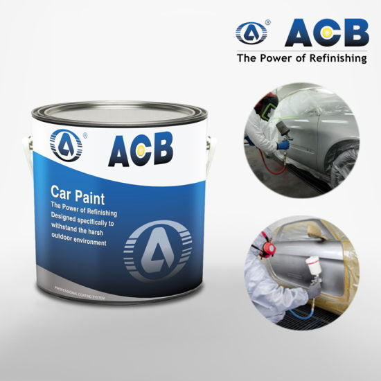 Automotive Coating Body Shop White Car Paint pictures & photos