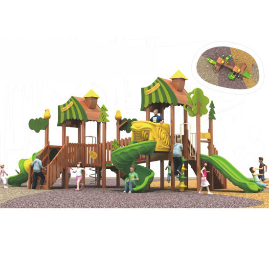 China Hot Best Wooden Swing Set