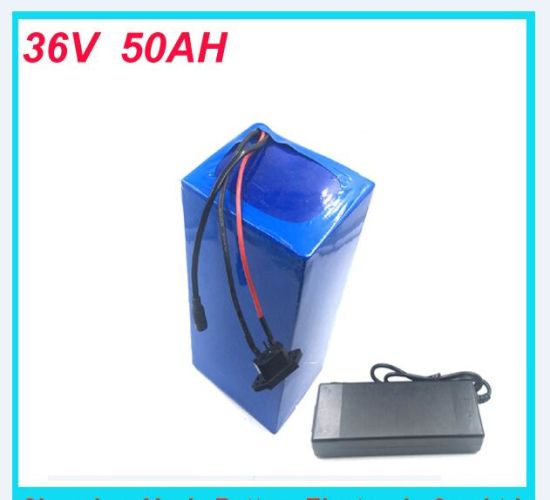 Electric Bike 1000W 36V Battery, 36V 50ah for 48V Bafang/8fun 1000W/750W MID/Center Drive Motor with Charger pictures & photos