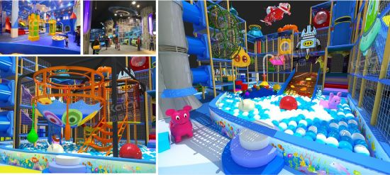 Kaiqi Children′s Soft Play Indoor Playground Design for Malls and More - Many Colours Available (TQBZ24A) pictures & photos
