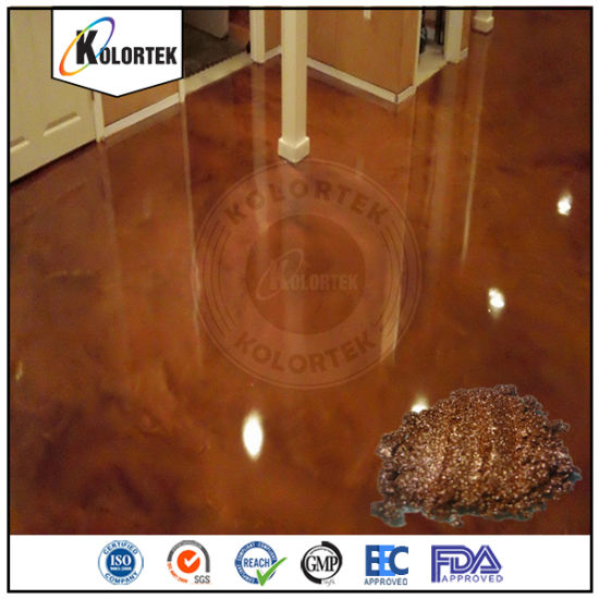China Pearl Effect Flooring Colors for Coloring Epoxy Floor - China ...