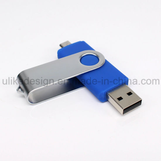 Promotional Swivel OTG USB Flash Drive (UL-OTG015) pictures & photos