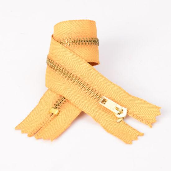 No. 3 3# Metal Zipper Brass Zipper C/E