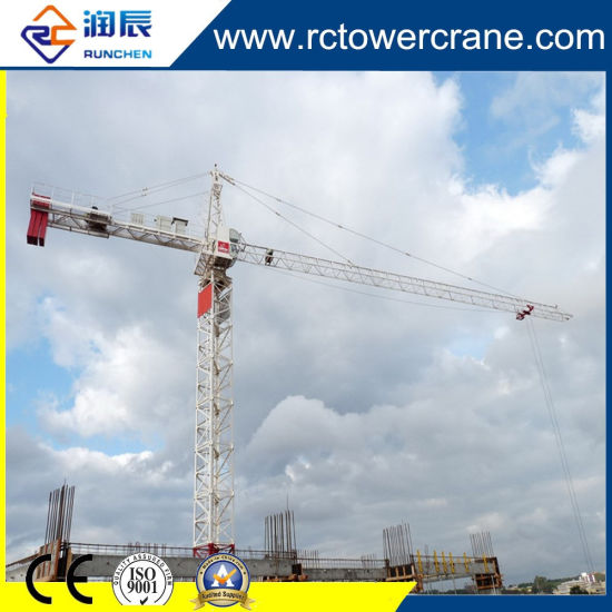 Ce ISO Exterial Climbing 20ton Tower Cranes for Construction Site