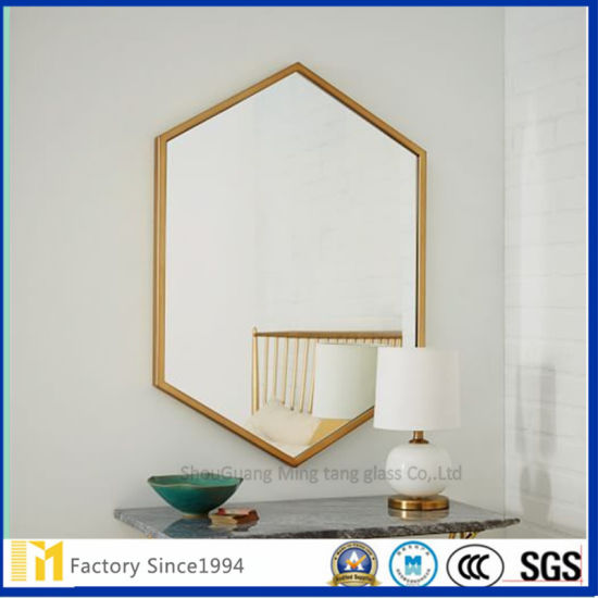 Various Shapes Silver Small Mirror For Wall Decorations