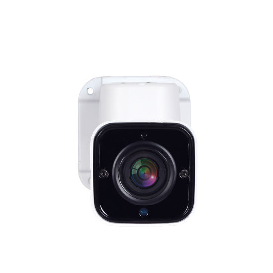 5.0MP Super HD IP PTZ Bullet Camera IP66 Waterproof 4X Zoom Camera for Outdoor Network CCTV Surveillance pictures & photos