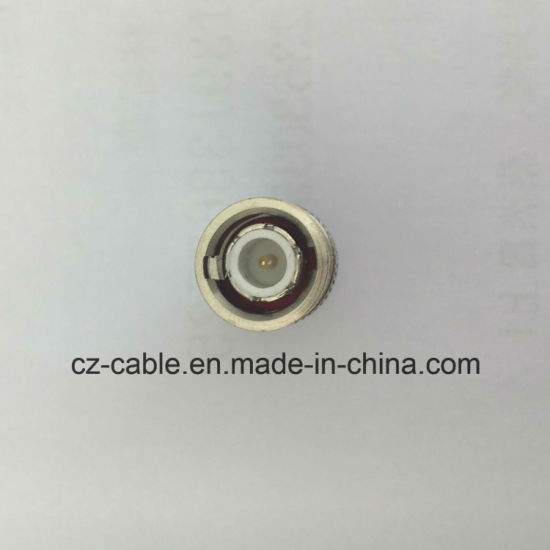Connector, BNC Male to F Female, Coaxial Cable Connector, CATV Connector, RF Coaxial Connector, Multimedia Speaker, Loudspeaker, BNC Connector pictures & photos