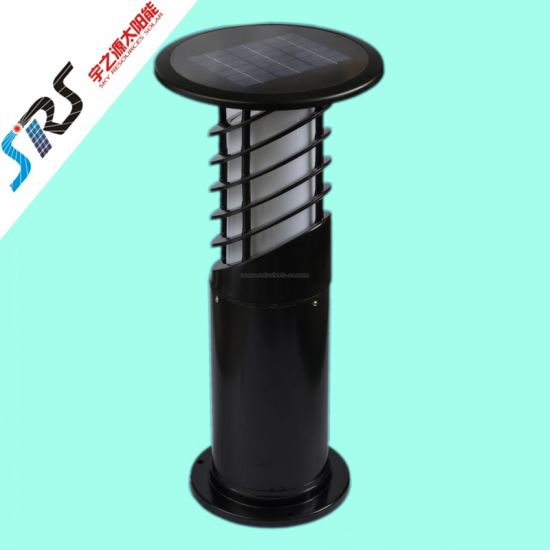 Aluminum Solar LED Lawn Lamp in Different Colour (YZY-CP-44) pictures & photos