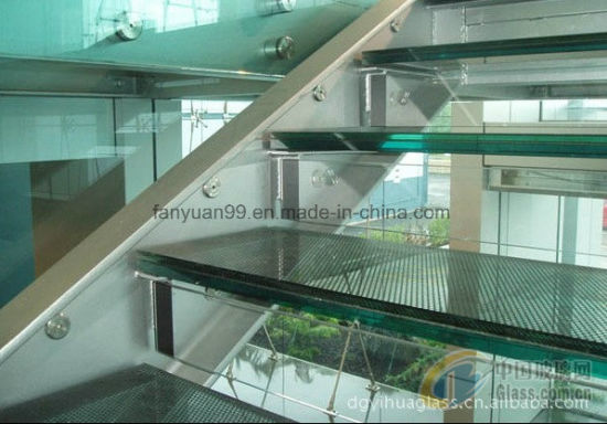 China Supplier Price Tempered Film PVB Laminated Glass for Commercial Building