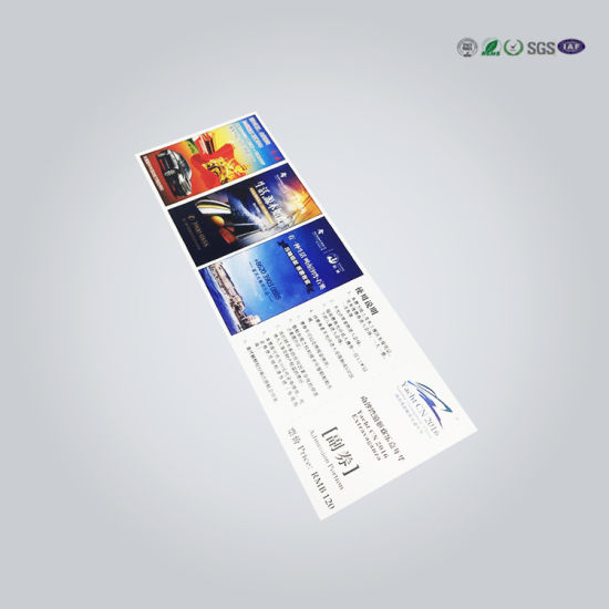 china 13 56mhz paper nfc event ticket n tag213 for festivals china