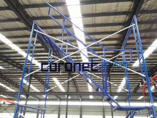 China ANSI Certified Frame Scaffolding Staircase W/ Handrails (CSST ...