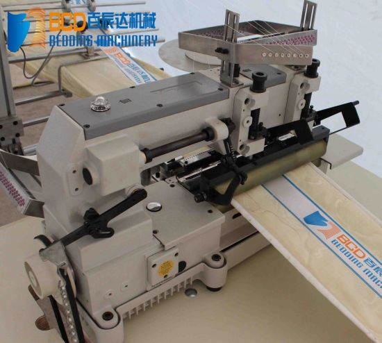 Bzf Mattress Logo Tape Sewing Machine pictures & photos