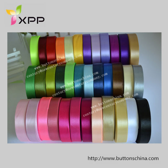 China Gift Packaging Double Or Single Side Satin Ribbon Tape China