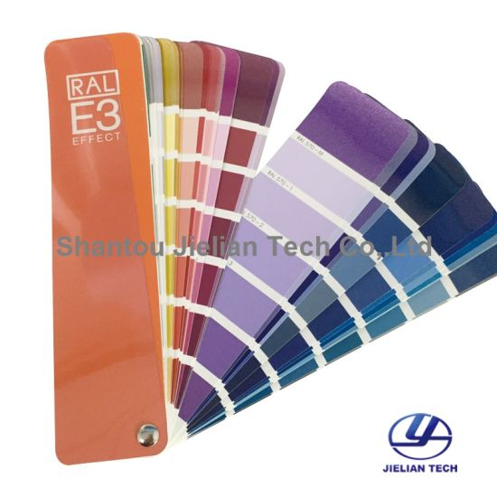 Made in Germany Ral E3 Metallic Colour Card