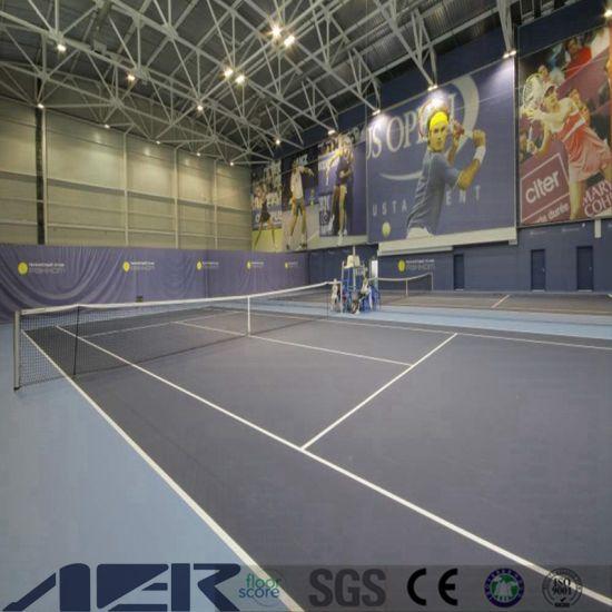 Environment Friendly Plastic Floor Tiles/Sports Flooring /PVC Flooring