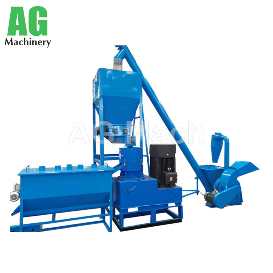 China Professional Poultry Food Machine Animal Feed Pellet Machine