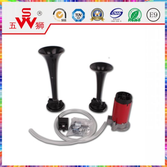 Black Double Wire Air Horn pictures & photos