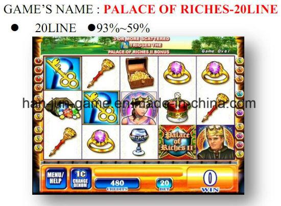 Palace of Riches Slot Arcade Gambling Casino Game Machine