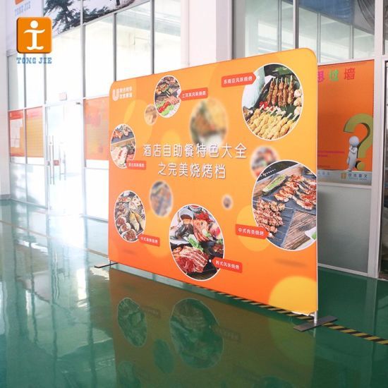 Fabric Banner Frames Freestanding Display (TJ-PO-03) pictures & photos