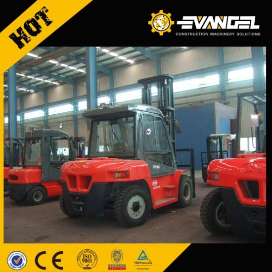 Hot Sale Yto 10ton Large Diesel Forklift Cpcd100 Price pictures & photos