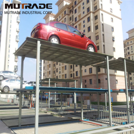 Psh Lift Slide Vertical Automatic Vehicle Parking Lift System 2 Levels Puzzle Parking System pictures & photos