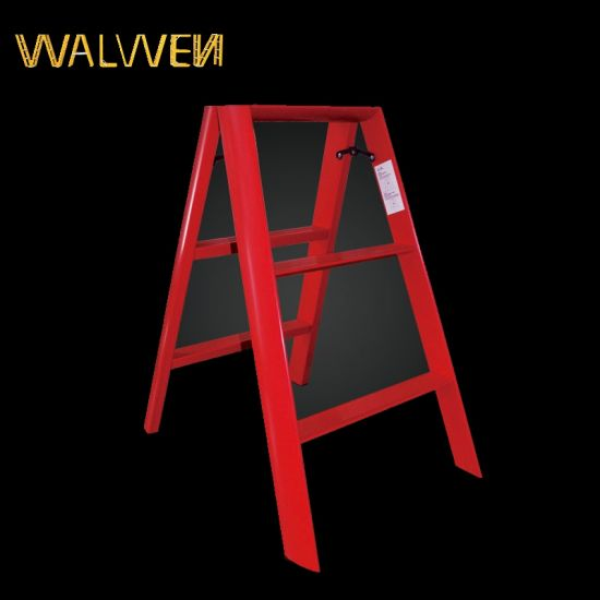 China Supplier Foldable Agility Aluminum Household Ladder pictures & photos