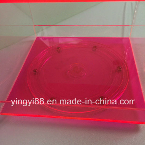 Super Quality Acrylic Rotating Display Cabinet pictures & photos